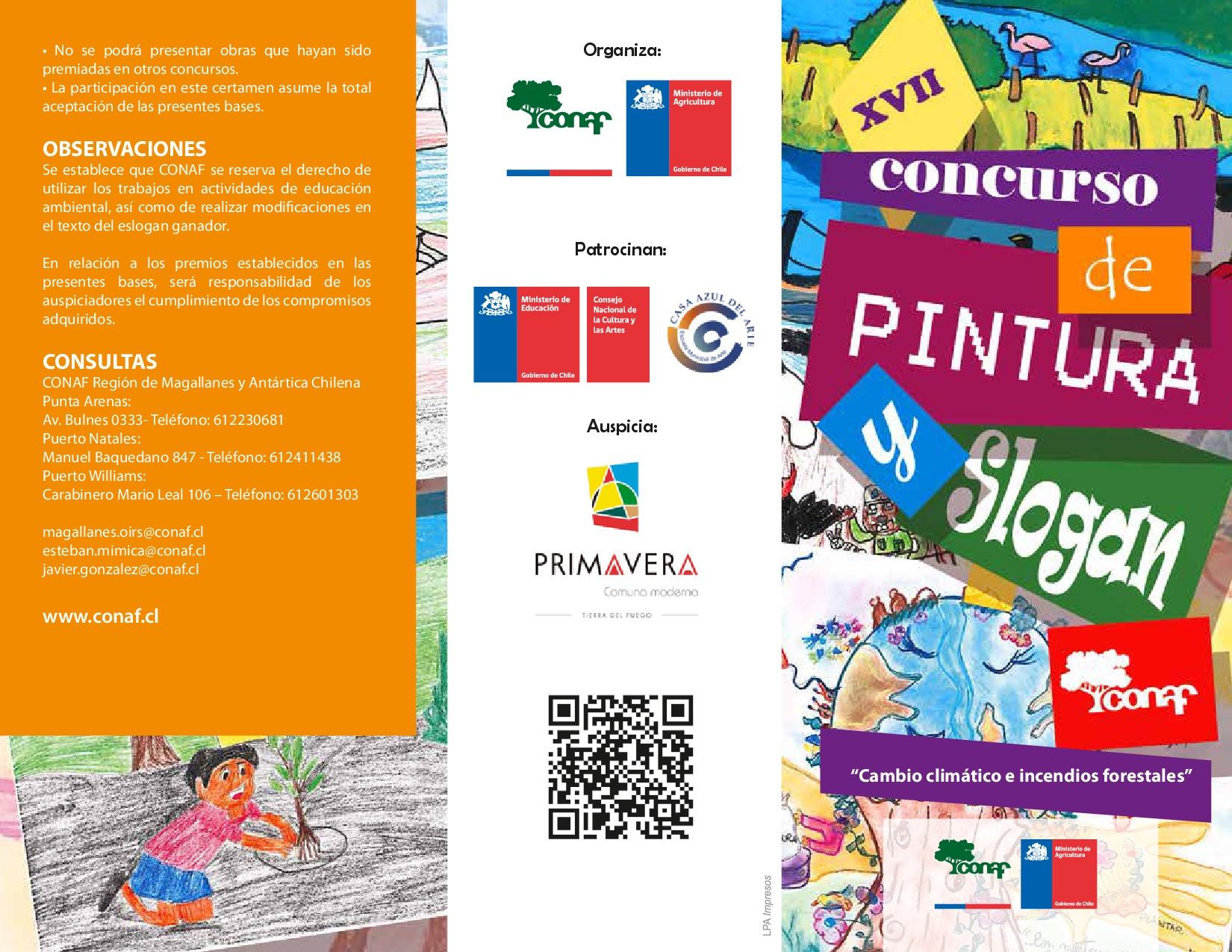 XVII Concurso de Pintura y Slogan 2017 Región de Magallanes
