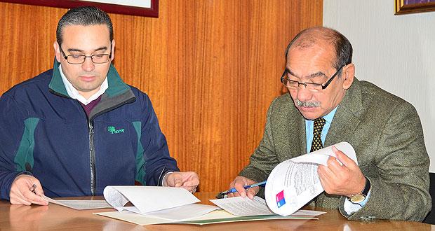CONAF y Municipalidad de Yumbel firmaron convenio de cooperación.
