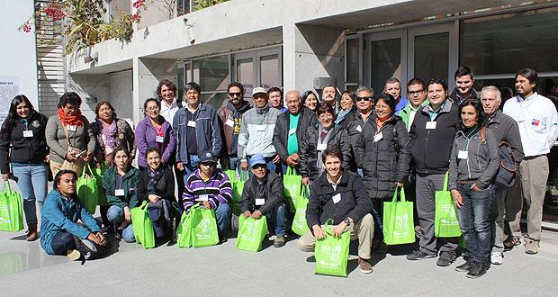 CONAF capacita municipios en temas de arbolado urbano