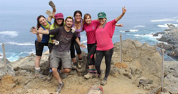 Con éxito finalizó voluntariado 'Vive Tus Parques' en región de Antofagasta