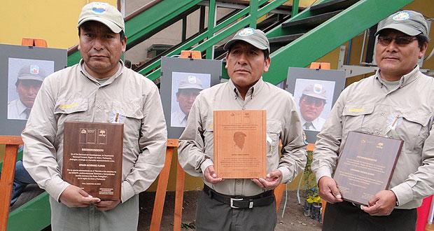 CONAF entrega distinciones por Día del Guardaparque