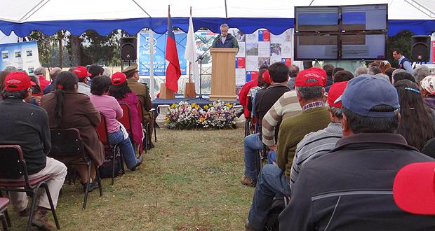 Ministerio de Agricultura dio el vamos a programas exclusivos de CONAF, INIA e INDAP para Arauco.