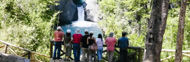 Casi 55 mil turistas visitaron el Parque Nacional Radal Siete Tazas durante 2015