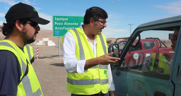 CONAF realizó fiscalización conjunta con Carabineros por tala ilegal de tamarugos.