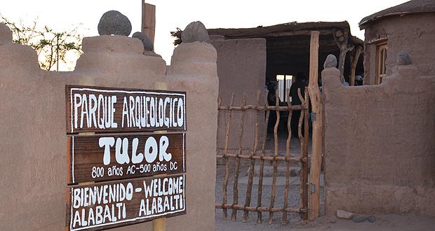Aldea de Tulor, San Pedro de Atacama.