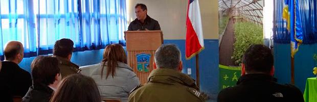 Programa de Arborización en mejoramiento de áreas verdes de Villa Cerro Castillo