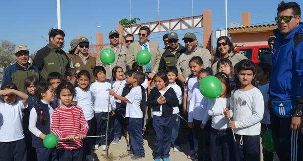 CONAF Atacama reconoció al primer guardaparques de la región.