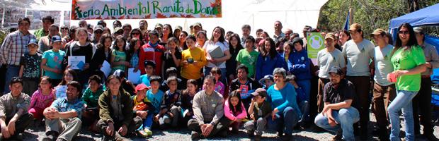 En Parque Nacional Queulat desarrollan primera feria ambiental 'Ranita de Darwin'