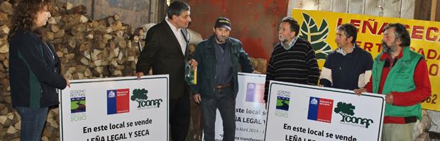 CONAF cerró temporada 2014 de programa de leña en la Provincia de Concepción