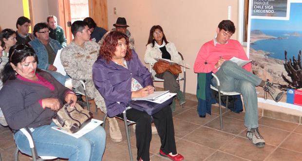 En taller confeccionan plan de uso público de Parque Nevado de Tres Cruces