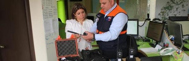 Tecnología de punta para enfrentar los incendios forestales en el Maule