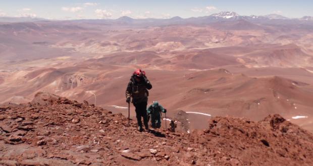 Patrulla de Rescate en Montaña del Ejército  y personal de CONAF Atacama realizaron un ascenso de monitoreo arqueológico a una de las cumbres más altas de Chile.