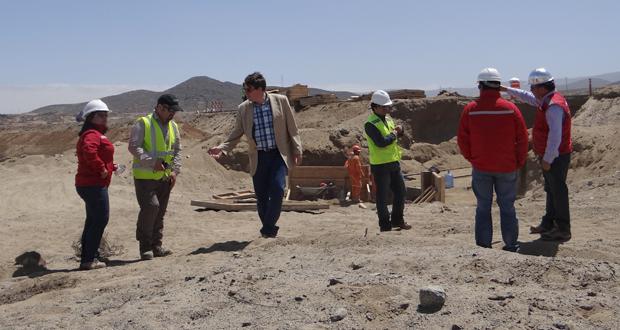 El lugar que se inspeccionó fue el kilómetro 900 de la vía, donde se comprometió un plan de trabajo de formaciones xerofíticas para más de 50 hectáreas.