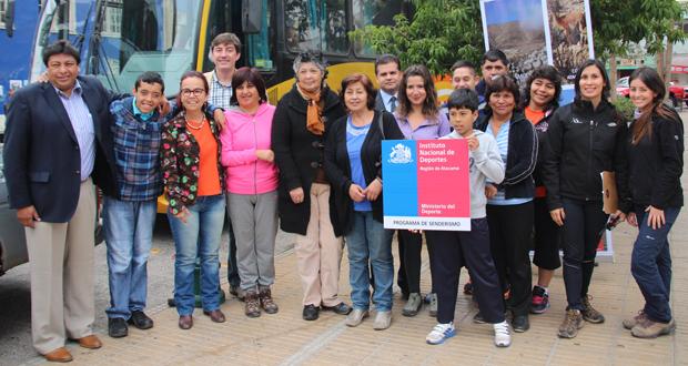 Nuevo programa de senderismo recorrerá parques nacionales de Atacama.