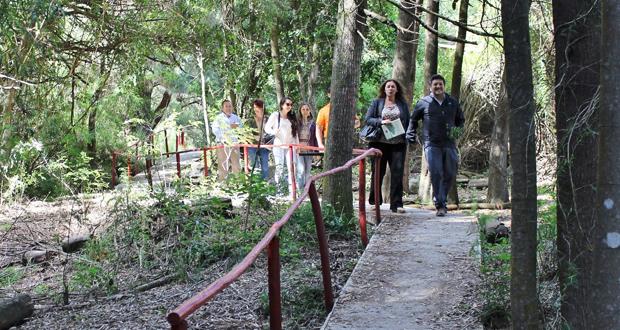 Reserva Nacional Nonguén terminó arreglos en senderos para mejor atención a los visitantes.