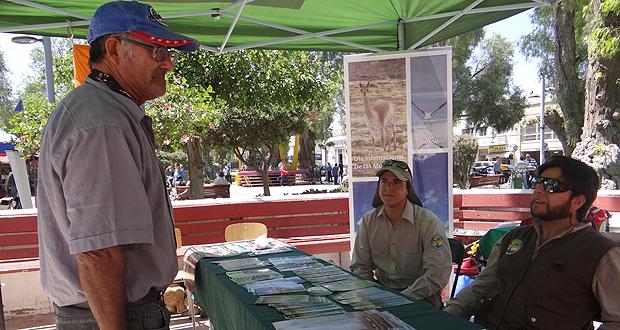 Actividad tiene por objeto acercar a la ciudadanía las distintas actividades que se ejecutan en la montaña.