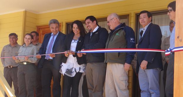 Se entregó al equipo de guardaparques una nueva casa con condiciones óptimas para su permanencia en el lugar durante sus turnos.