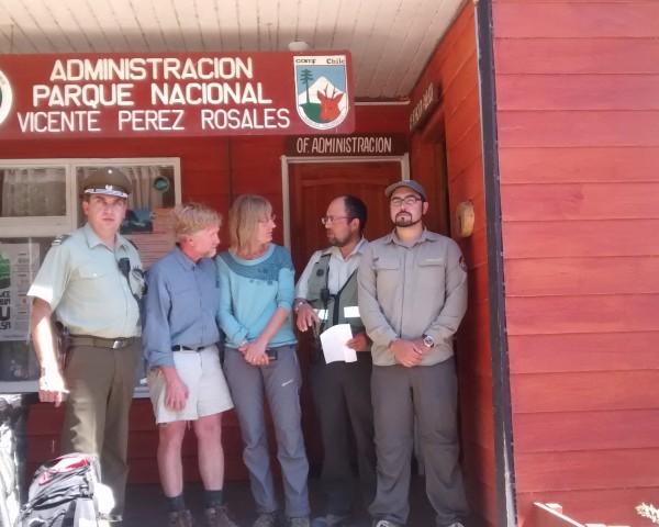 Aparecieron turistas extraviados en Vicente Pérez Rosales