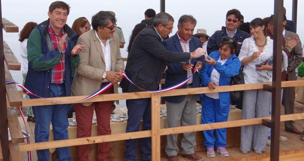 Inauguran primer sendero para discapacitados en Área Silvestre Protegida de Atacama.