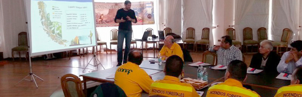 CONAF realizó en Punta Arenas Encuentro Binacional de Brigadas de Incendios Forestales
