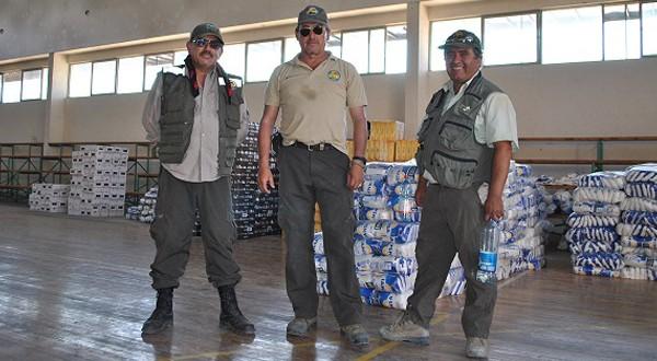 Un trabajo diario durante las 24 horas del día es el que están realizando los trabajadores del Parque Nacional Pan de Azúcar de CONAF.