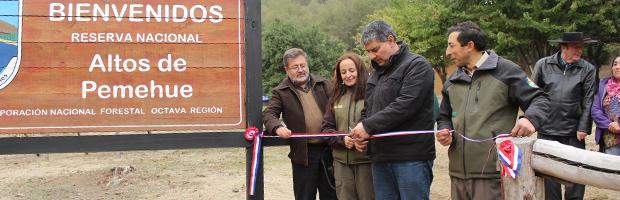 Reserva Nacional Altos de Pemehue abrió al público instalaciones de primer nivel