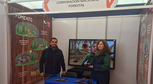 Stand CONAF en FIDA Expo  2015.