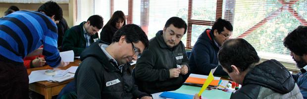 Extensionistas forestales CONAF se capacitan en trabajo con pequeños propietarios
