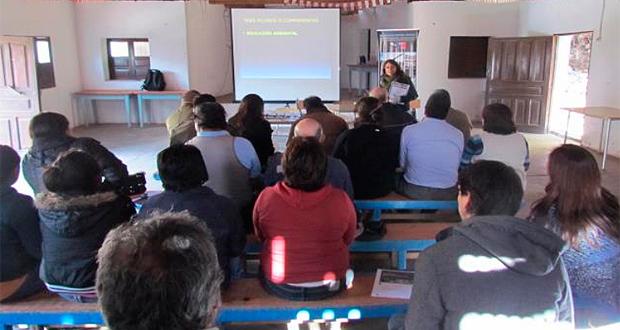 CONAF Región de Coquimbo presentó el Plan de Uso Público ante pobladores de la localidad de San Pedro de Pichasca, autoridades y representantes del Consejo Consultivo.