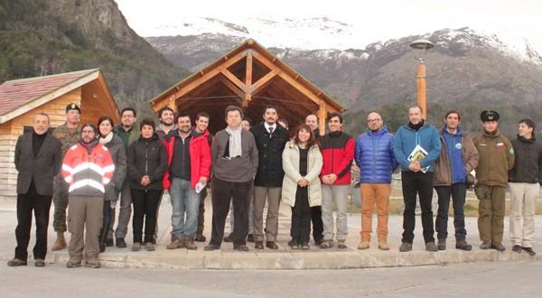 Participantes seminario 'Transferencias de Experiencias y Proyecciones para el Desarrollo Turístico Integral en Campo de Hielo Sur'.