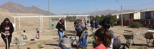 Programa de empleos CONAF avanza en recuperación de áreas verdes en Copiapó