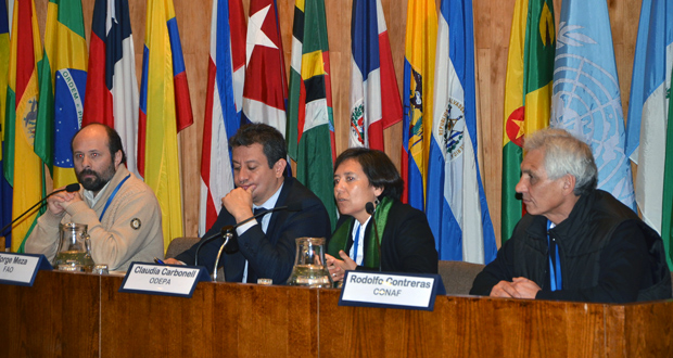 """Primer Taller Técnico Participativo """"Agua-Bosques-Plantaciones"""", correspondiente a la comisión que para tal efecto nombró el Consejo de Política Forestal (CPF)."""