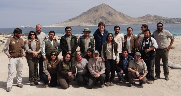 Los equipo de Áreas Silvestres Protegidas de las regiones de Atacama, Tarapacá, Antofagasta y Coquimbo se reunieron en el Parque Nacional Pan de Azúcar.