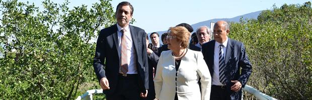 Presidenta inauguró Parque Urbano de La Ligua