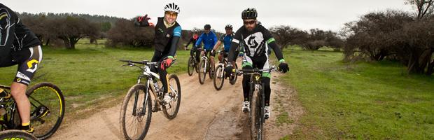Más de mil personas inauguraron ciclorutas en Reserva Nacional Lago Peñuelas