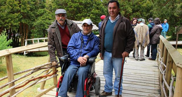 La obra se inauguró oficialmente en el marco del aniversario 33 del Parque Nacional Chiloé.