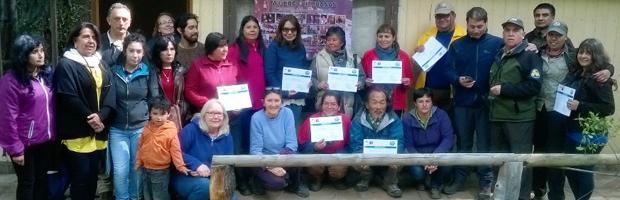 Mujeres emprendedoras fueron capacitadas por CONAF en Reserva Altos de Lircay