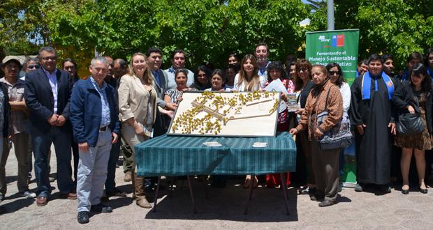 Ante un numeroso marco de público se realizó la presentación final del diseño que tendrá el jardín botánico de Atacama.