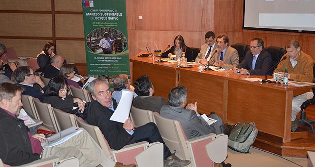 La reunión se realizó en la Universidad Austral de Chile, en Valdivia, el martes 15 de diciembre.