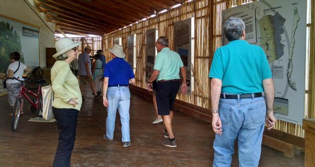 Durante este mes, se recibió la visita de más de cien turistas provenientes del crucero Regatta de Estados Unidos.