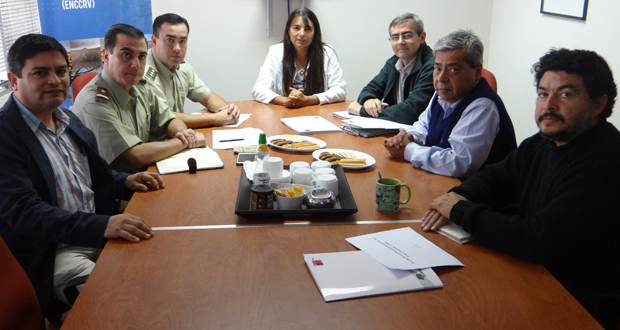 CONAF Región de Coquimbo y Carabineros de esta IV zona se reunieron para planificar la labor del año.