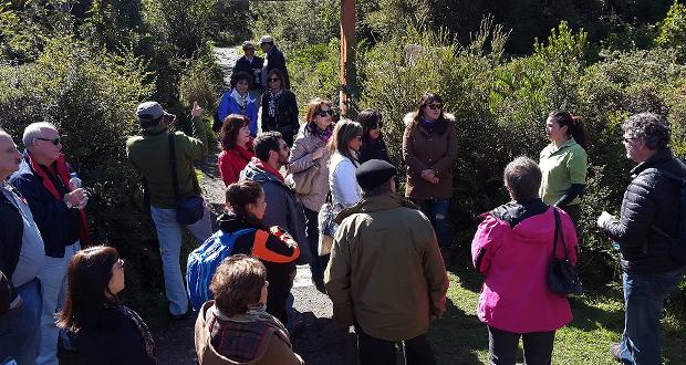 En el Parque Nacional Chiloé Jueces de Policía Local fueron capacitados en el marco regulatorio que rige a CONAF en su labor de fiscalización forestal.