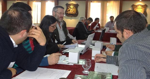 a instancia de trabajo tuvo lugar en el Hotel Villa del Río, Valdivia, y tuvo una duración de 7 horas.