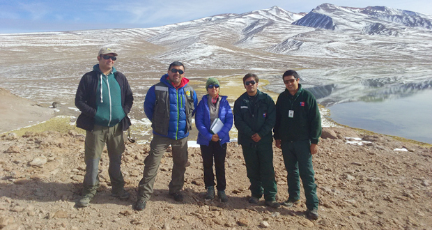 CONAF y SAG fiscalizan el Parque Nacional Nevado de Tres Cruces por Ley de Caza.
