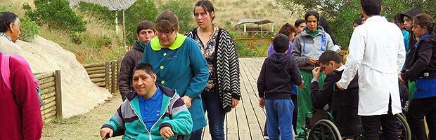 Parque La Ligua, espacio inclusivo para estudiantes en situación de discapacidad