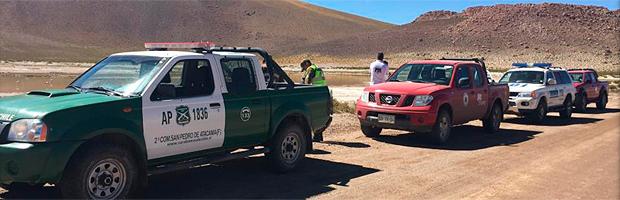 Implementan controles carreteros al transporte de productos del bosque Nativo en El Loa