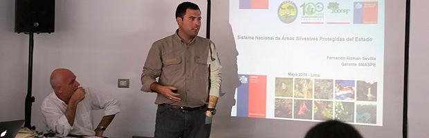 Chile expuso nueva metodología de planificación de áreas protegidas en reunión internacional
