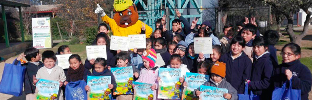 Capacitan a profesores y estudiantes de Quilpué en prevención de incendios forestales