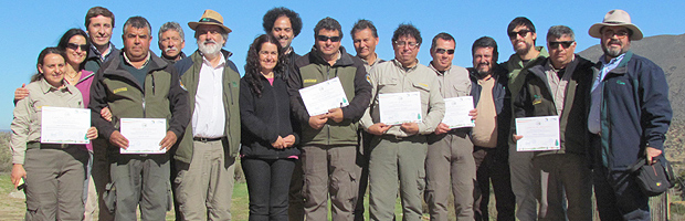 Certifican a Guardaparques de CONAF en temas de ciencia y turismo