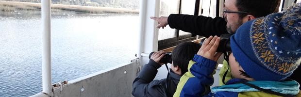 Alumnos del colegio Laico de Valdivia conocieron el Santuario del Río Cruces